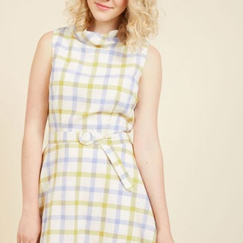 Retro Reality A-Line Dress | Mod Retro Vintage Dresses | ModCloth.com