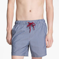 Topman Stripe Swim Trunks | Nordstrom