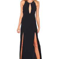Stone Cold Fox || Owen gown in black