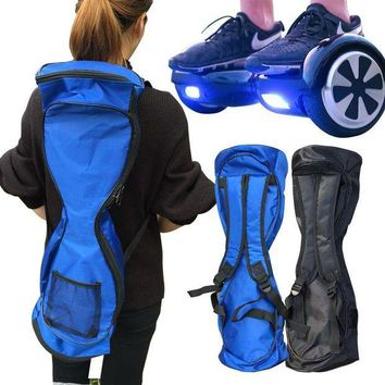 QIYIF new portable 6 5 8 10 inches hoverboard backpack shoulder carrying bag for 2 wheel electric self balance scooter travel knapsack