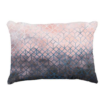 Geometric XI Accent Pillow