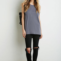 Cutout-Back Muscle Tee