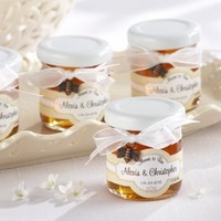 """""""Meant to Bee"""" Mini Personalized Honey Jars"""