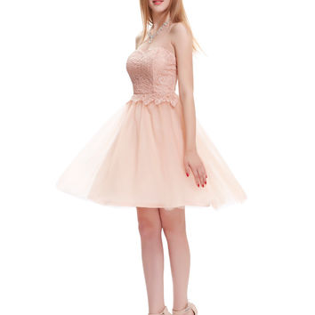 Sexy Strapless Sweetheart Lace Black/White/Pink Short Prom Dress 2016 A Line Wedding Party Dress Strazz Ombre Prom Gowns - BRIDESMAID DRESSES BRIDAL GOWNS PROM