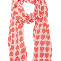 Allover Heart Scarf