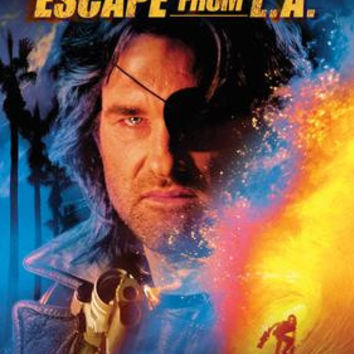 Escape From La Movie Poster 11x17 Mini Poster