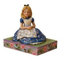 My Associates Store - Disney Traditions designed by Jim Shore for Enesco Alice in Wonderland Figurine 4 IN