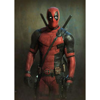 Deadpool Movie But I Am Smiling Gallery Print