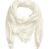 Pompom Scarf - from H&M