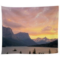 St. Mary's Lake Glacier National Park Tapestry
