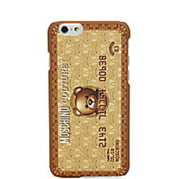 Moschino - Bear Credit Card Plastic iPhone 6 Case - Saks Fifth Avenue Mobile