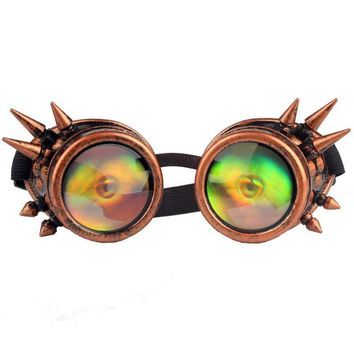 Cosplay Rivet Steampunk Goggles