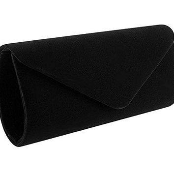 Women Evening Bag Clutch PurseiSbaby Handbag With Detachable Chain for Wedding Cocktail Party Velvet
