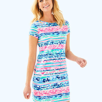 Short Sleeve Marlowe Dress | 25981-multiawavefromitall | Lilly Pulitzer