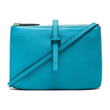 Annabel Ingall Jojo Crossbody in Turquoise