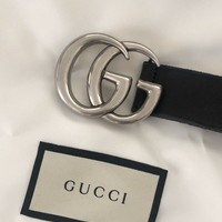 Gucci Marmont Belt Sz 80 Sold Out Everywhere Rare Retail $450