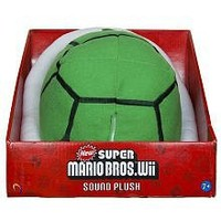 New Super Mario Bros. Wii Sound Plush Green Koopa Shell by Global Holdings