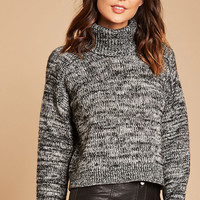 Contemporary Turtleneck Sweater