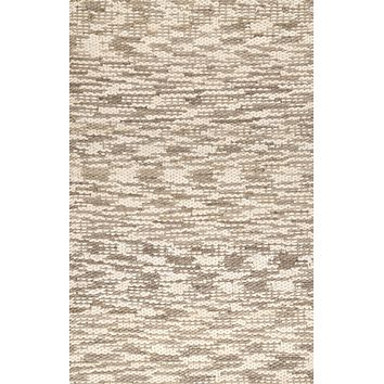 nuLoom Hand Loomed Faded Dianne Jute Area Rug