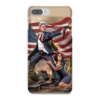 Bill Clinton - Slayer in Chief Phone Case
