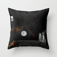 Boundaries Throw Pillow by Veronica Ventress | Society6