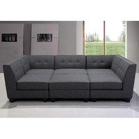 BestMasterFurniture 6 Piece Modular Sectional | Wayfair