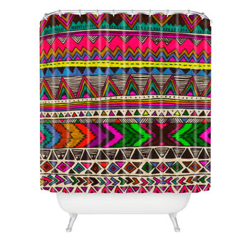 Kris Tate Poncho Shower Curtain