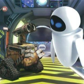 Disney Wall E Movie Poster One Sheet Rare Hot New 24x36