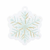 Rifle Paper Co. Holiday Die-Cut Gift Tags - Snowflake