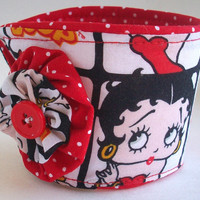 Betty Boop Coffee Cup Cozy / Red Lips Drink Sleeve