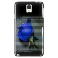 Thin Blue Line Rose Cell Phone Case