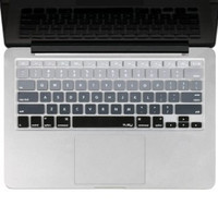 "Black Gray Gradient Ombre Keyboard Cover Decal Skin for Apple Macbook Macbook Pro iMac Keyboard  13"" 15"" 17"""