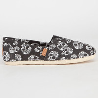Madden Girl Gloriee Womens Shoes Black Skull  In Sizes