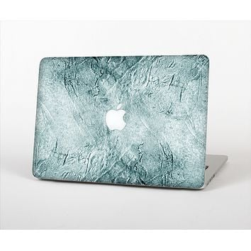 """The Grungy Teal Wavy Abstract Surface Skin Set for the Apple MacBook Air 11"""""""
