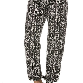 Tailored Multicolored Jogger Dress Pants