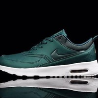 Nike Air Max Thea Black Premium Leather SneakersNWT1