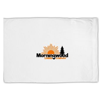 Morningwood Company Funny Standard Size Polyester Pillow Case by TooLoud