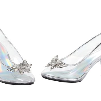 Shoes Glass Slipper Sz 10