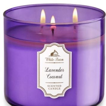 3-Wick Candle Lavender Coconut
