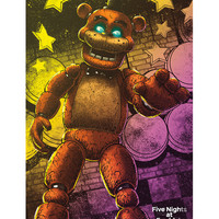 Five Nights At Freddy's Freddy Poster