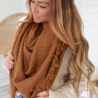Anything Goes Scarf - Camel