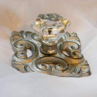 Cast Iron Knob Base - Choose Your Color - Colorful Cast and Crew