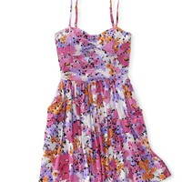 Floral Convertible Knit Strapless Dress - Aeropostale