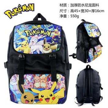 Anime Backpack School kawaii cute Pikachu Pokemon Dragon Ball Z ZELDA Adventure Time Doctor Who Backpack Cartoon Student Bags Shoulder bag 9 style AT_60_4