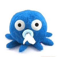 Home & Decor Home & Decor Cute Cartoon Octopus Tissue Paper Box Holder-blue: Home & Kitchen