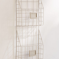 Two Tier Hanging Magazine Rack   Urban Outfitters