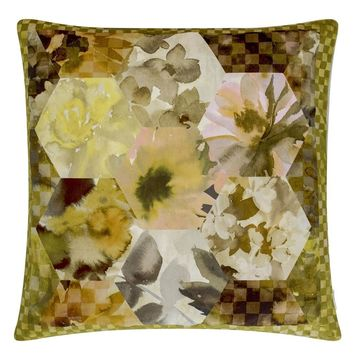 Designers Guild Kashmiri Ochre Decorative Pillow