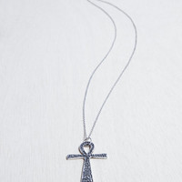 All Seeing Ankh Necklace