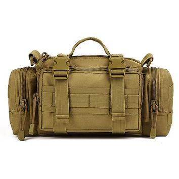 Military Tactical MOLLE Assault Duffle Bag