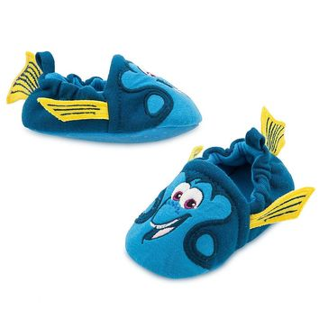 Licensed cool Disney Store Finding Dory Nemo 3D Baby Costume Shoes Slippers 0-6 6-12 12-18M